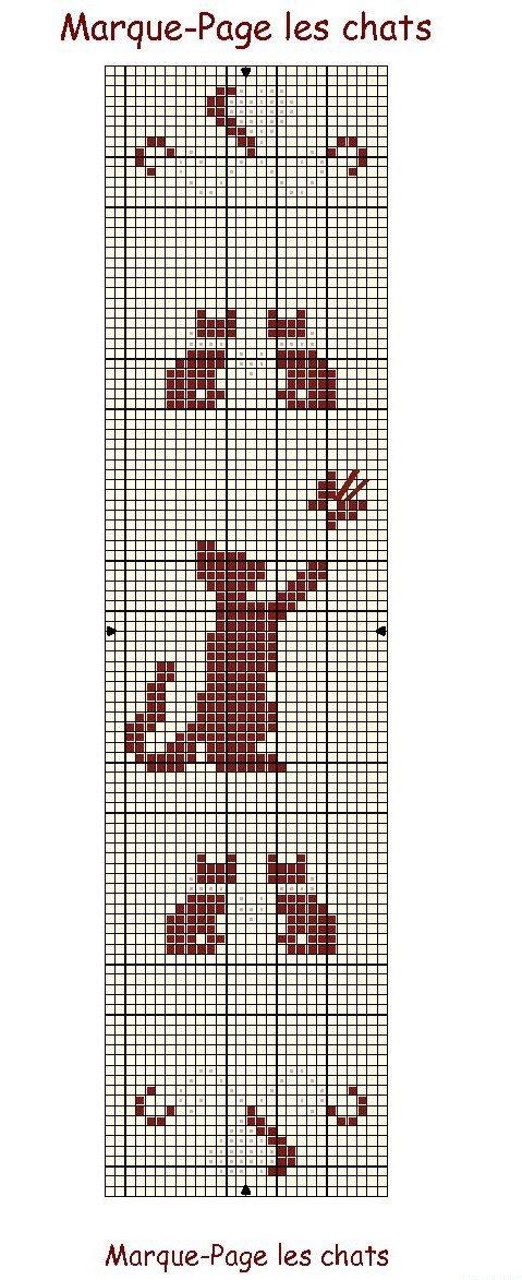 Les passions de mamie 2013 d cembre - Marque page point de croix grille gratuite ...