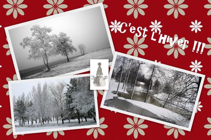 C'est  l'hiver pour blog