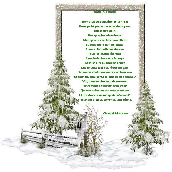 Noël au pays
