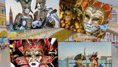 Montage carnaval de Venise