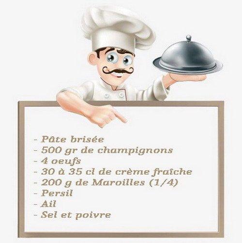 recette tarte  bis