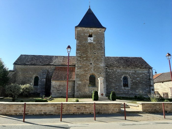Eglise de Chantraines 1bis